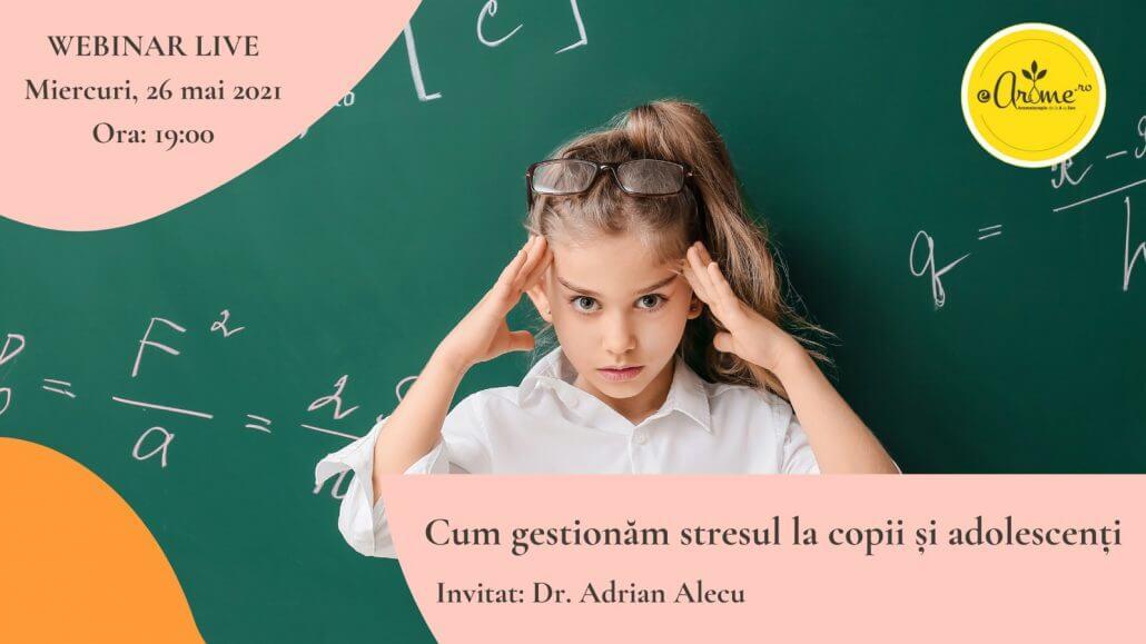 Stresul la scolari